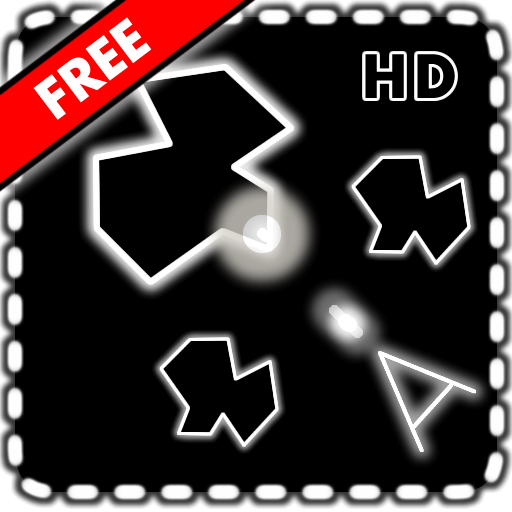 Games vector asteroids. Vectoids free space shooter