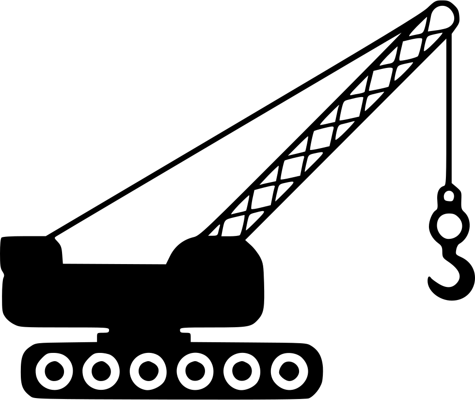 Games vector crane. Svg png icon free