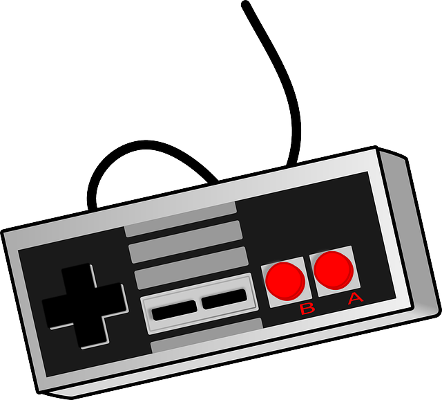 Games vector old. Photo by clker free