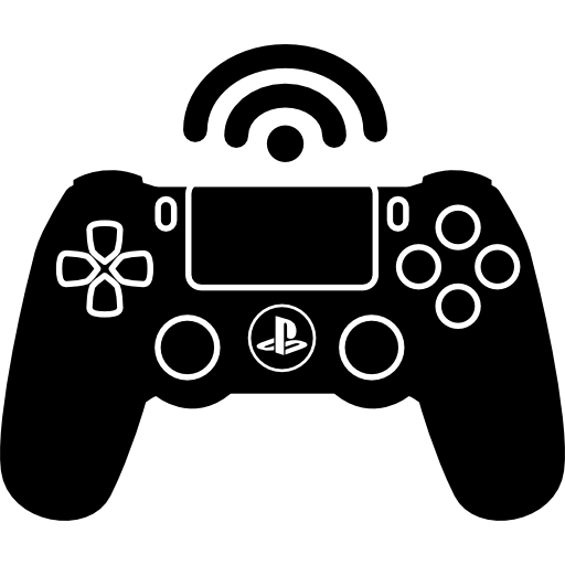 Games vector ps4. Ps wireless game control