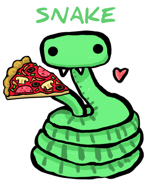 Games vector snake. How to build a