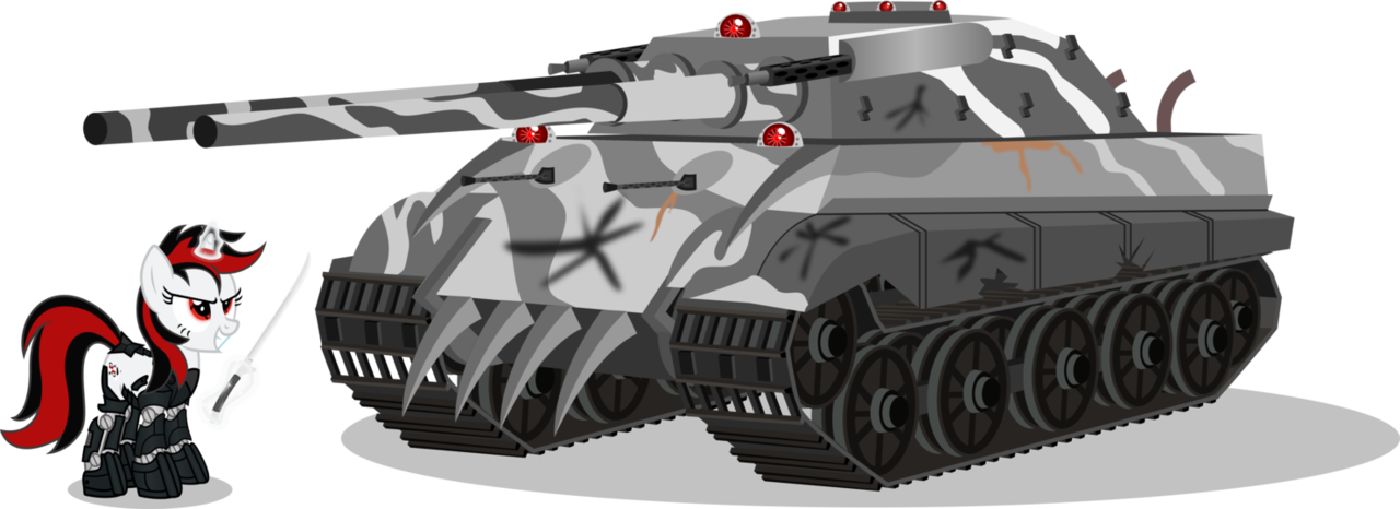 Games vector tank. Artist brony fallout