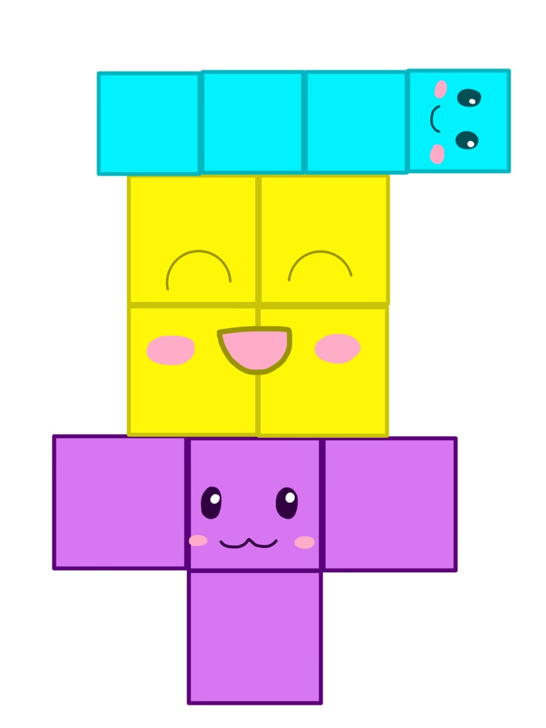 Games vector tetris. Trio by emeraldia the