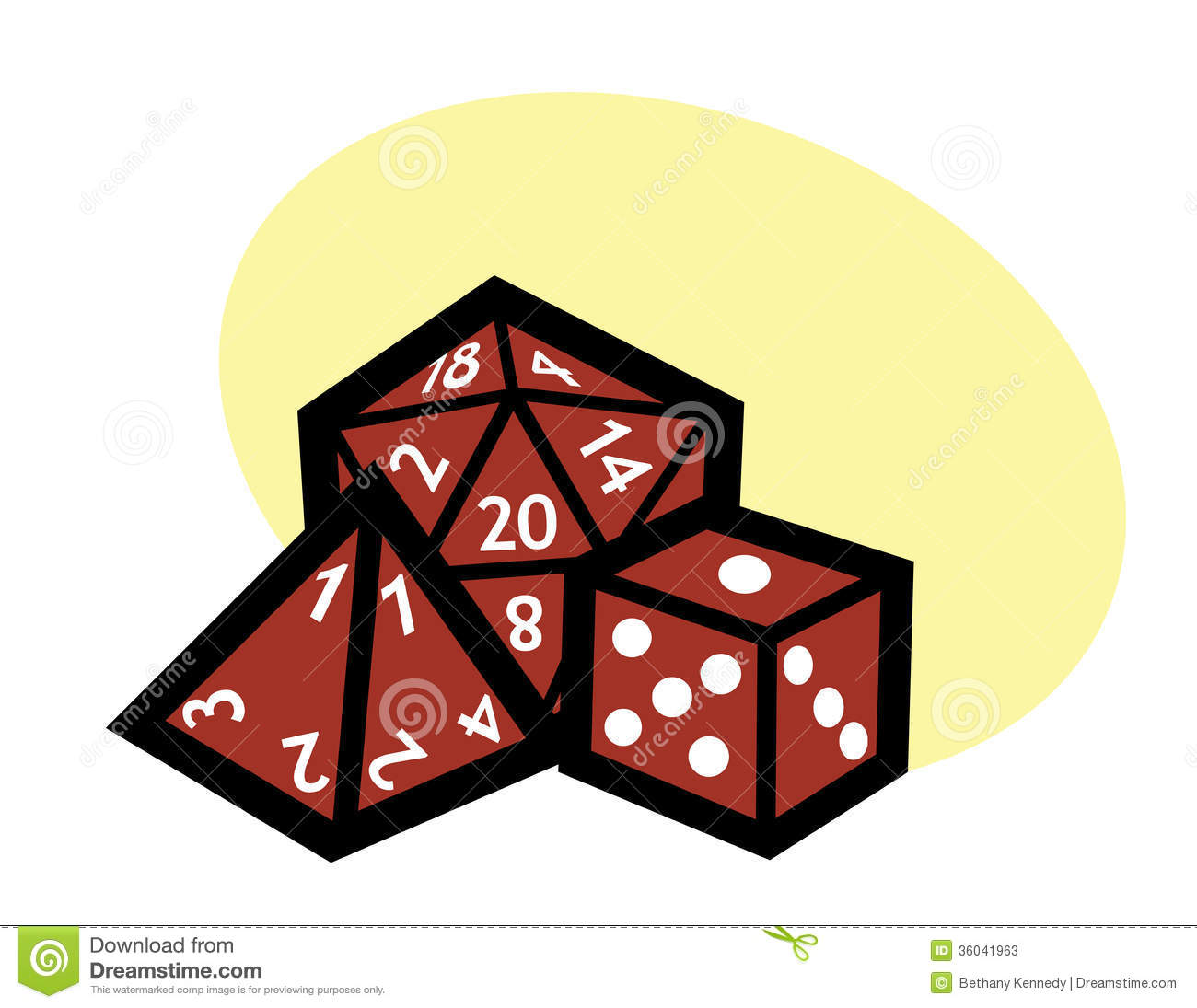 Rpg dice stock vector. D20 clipart animated picture free library