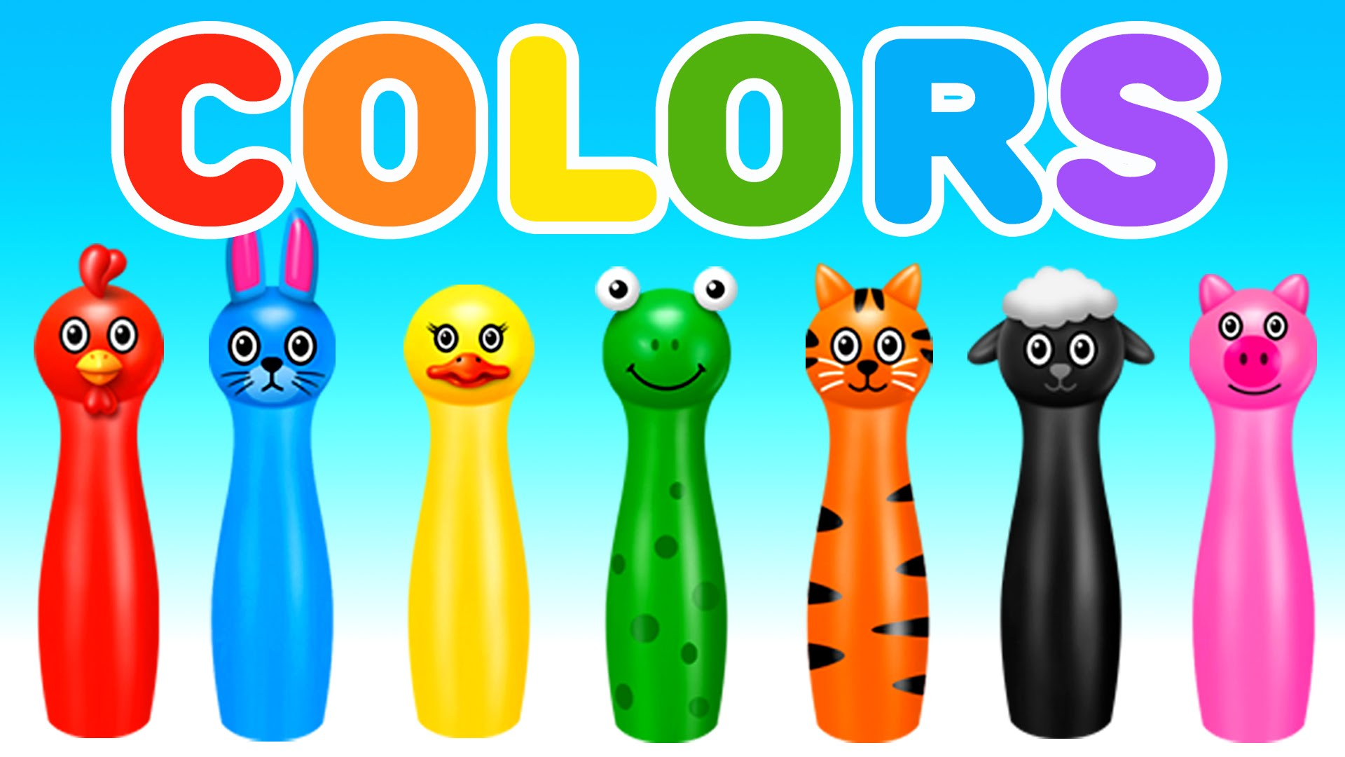 Gaming clipart number game. Learn colors with bowling