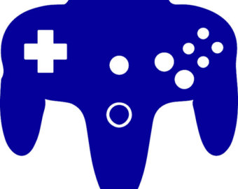 Gaming clipart silhouette. Video at getdrawings com