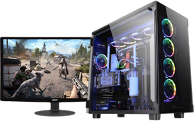 Gaming computer png. Planet the best custom