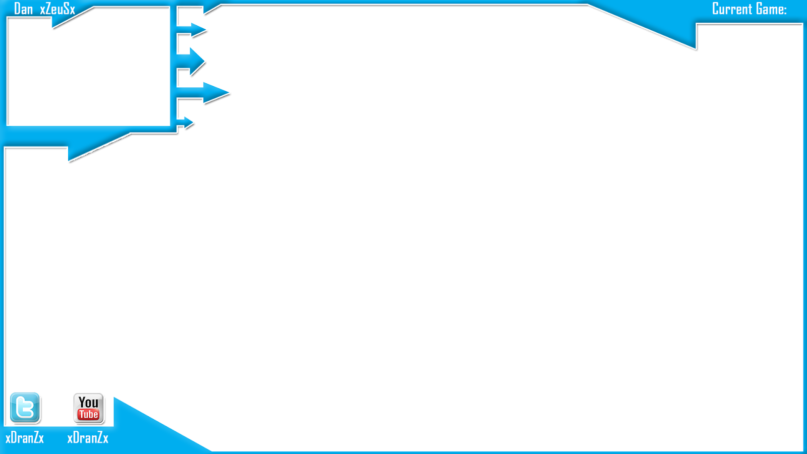 Gaming facecam border png. Images of template