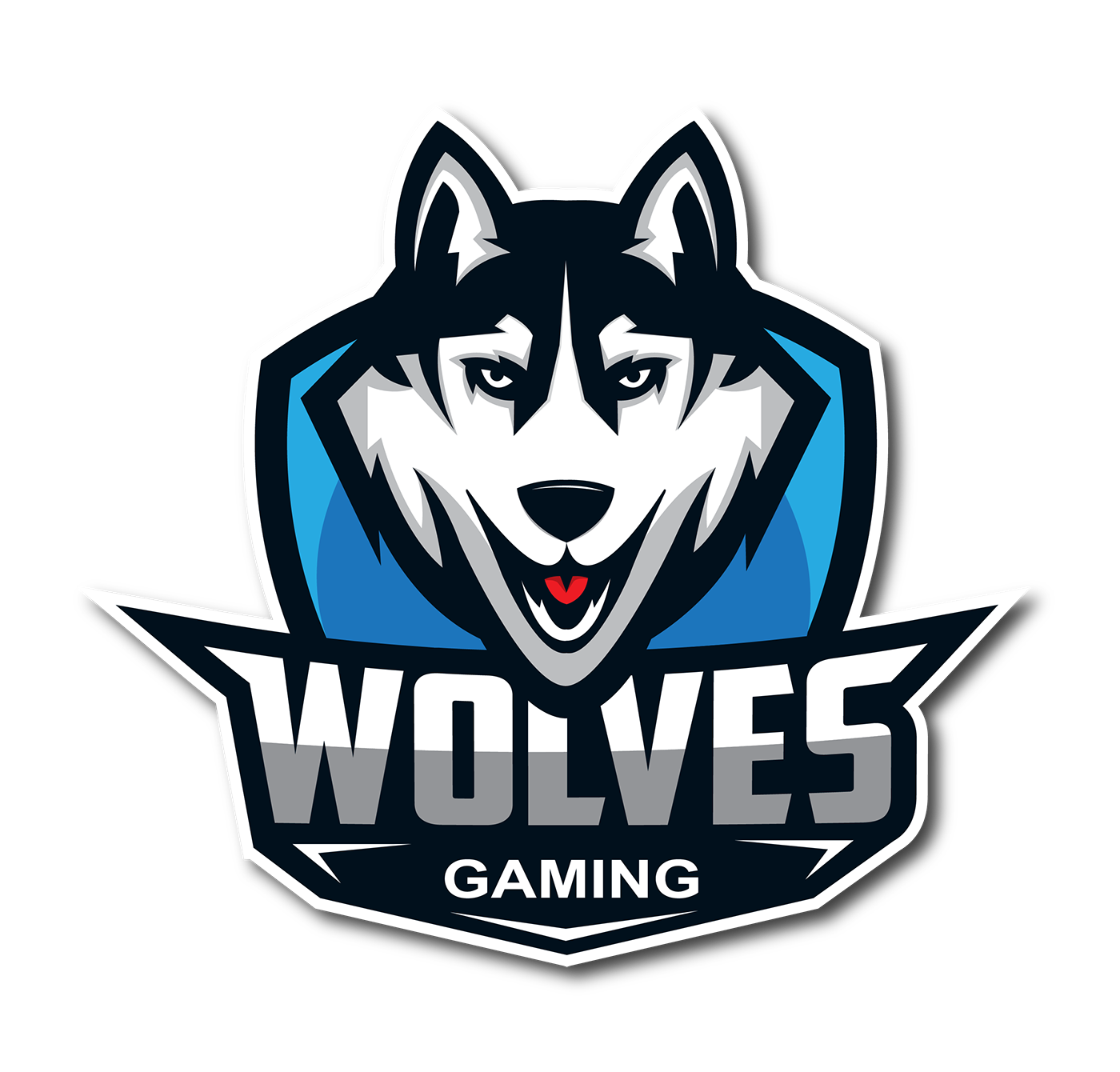 Gaming mascot logo png. Wolves on behance