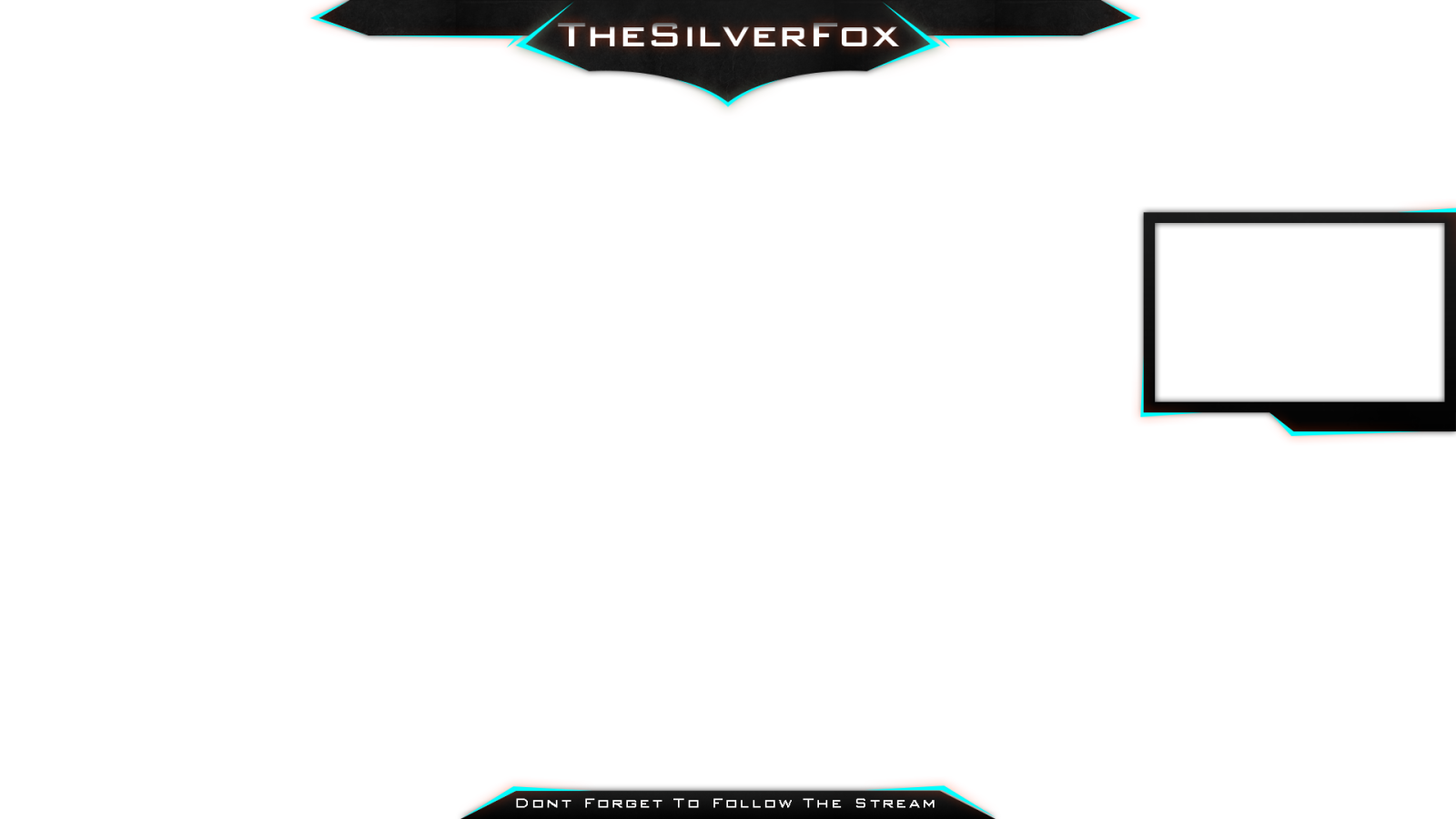 Gaming overlay png. Latest stream design for