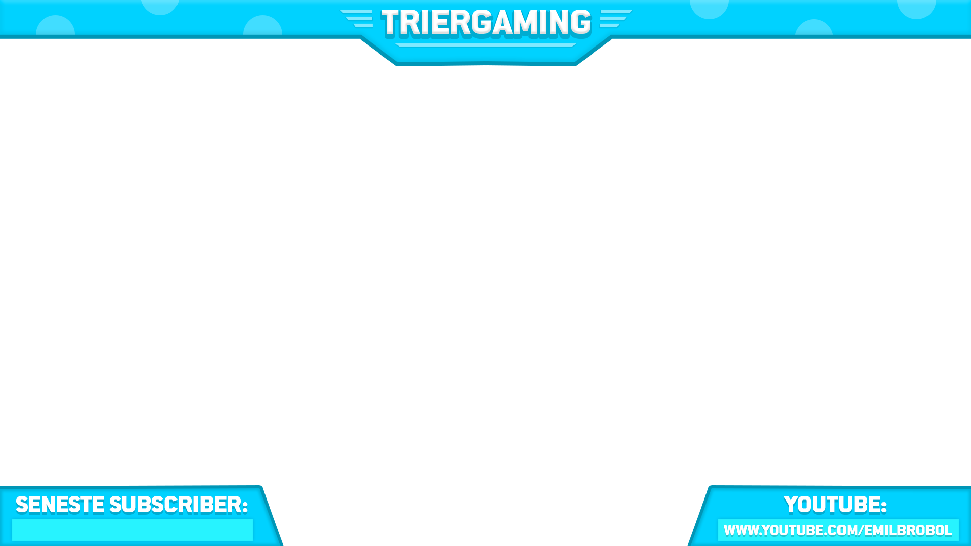 Youtube overlay png. Scene swaggy graphics triergaming