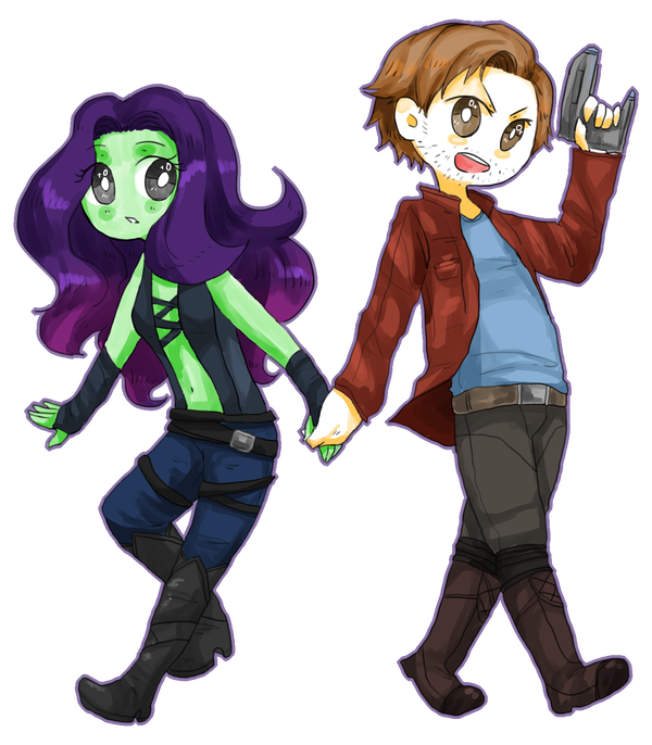 Gamora drawing dead. Who ships starmora by