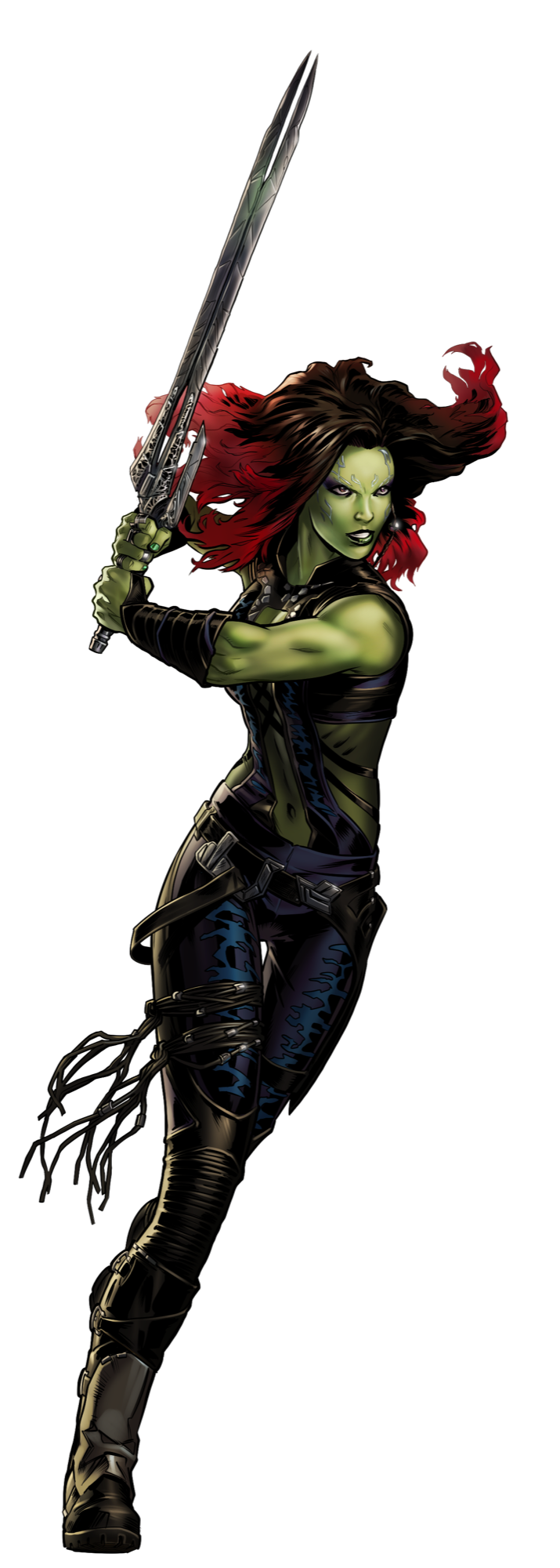 Gamora drawing tattoo. In avengers alliance ilustrations