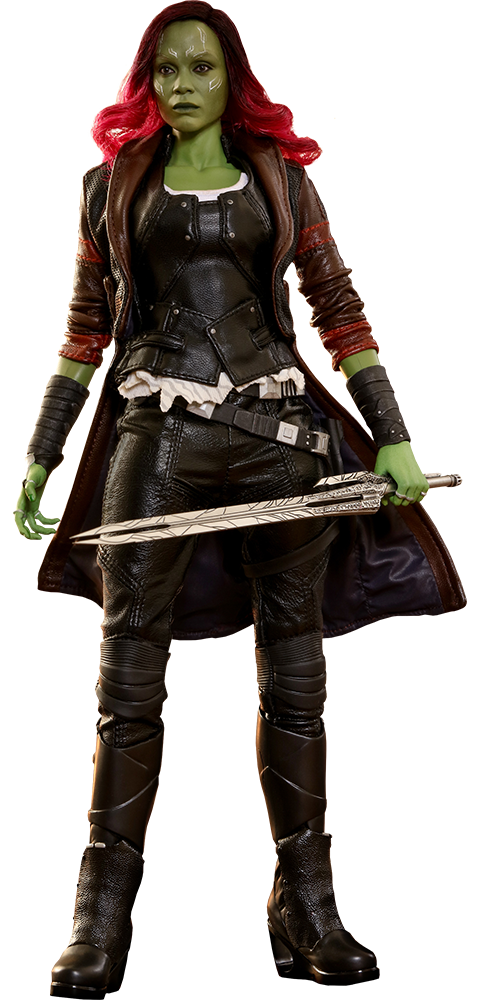 Gamora drawing dead. Hot toys sixth scale