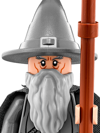Gandalf transparent. Lego dimensions characters and