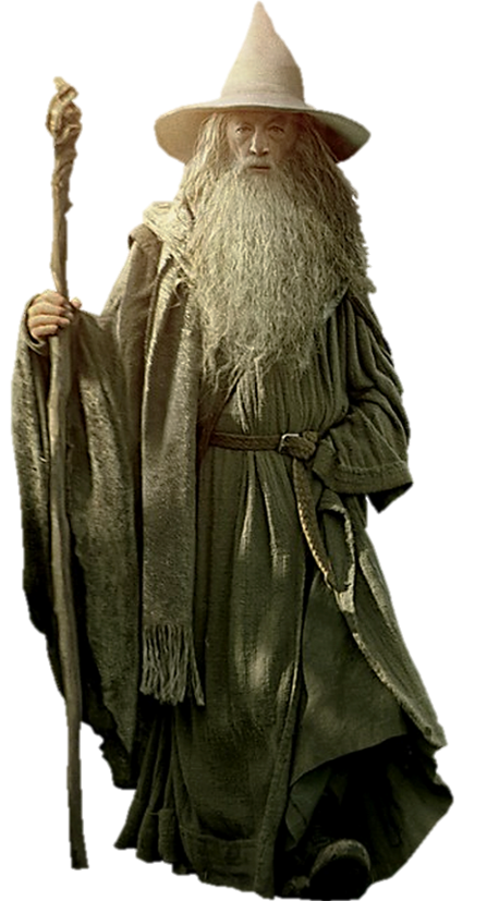 Gandalf transparent. Png by gasa on