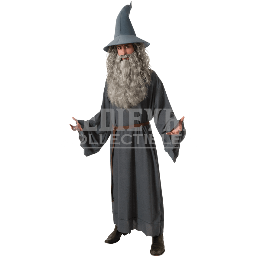 Gandalf transparent middle earth. Adult costume rc by