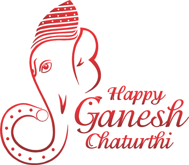 Ganesh vector artistic. Chaturthi png picture clipart