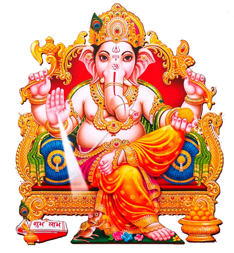 Ganesh vector background. Chaturthi png image with