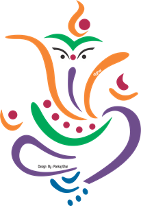 Ganesh vector. Logo vectors free download