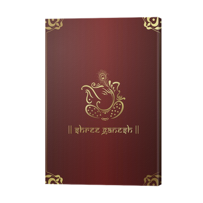Ganesh Vector Wedding Card Transparent Png Clipart Free Download