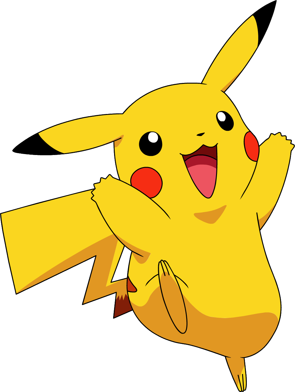 Gangster pikachu png. Image os anime pok