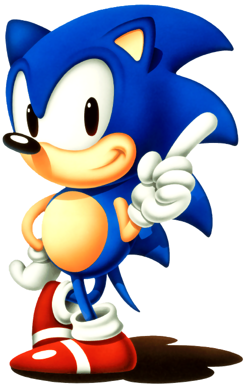 Classic sonic png. Image the real character