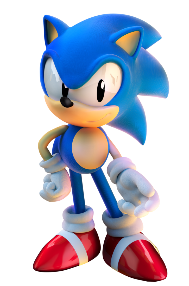 Gangster sonic png. Image z classic mario