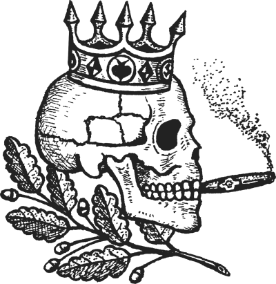 Gangster tattoo png. Skulls drawings with cigars