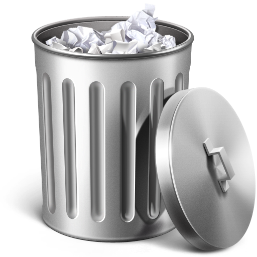 Garbage can emoji png. Trash icon free macos