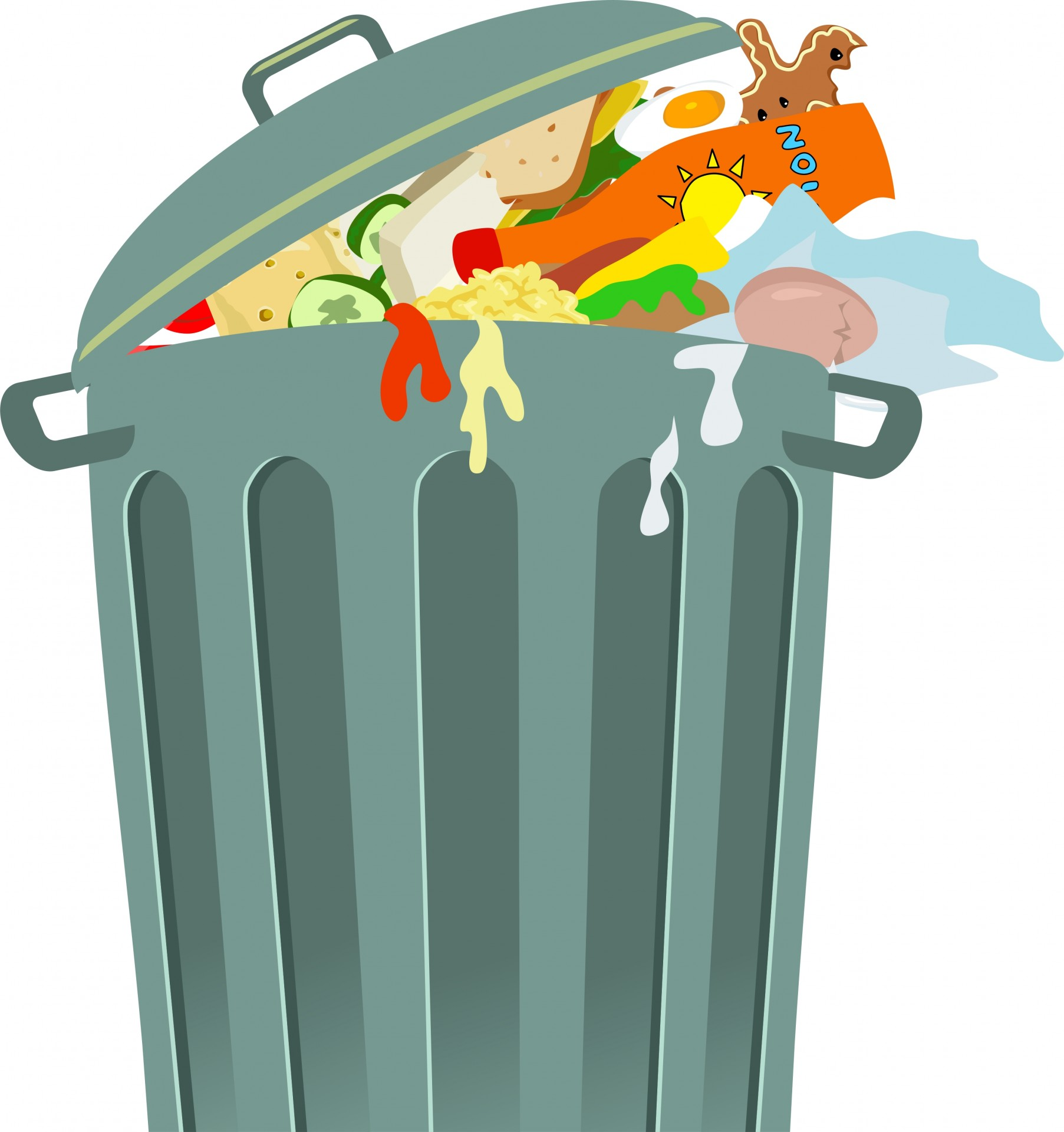 trashcan clipart