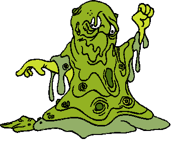 Garbage clipart bad smell. Body waste facts science