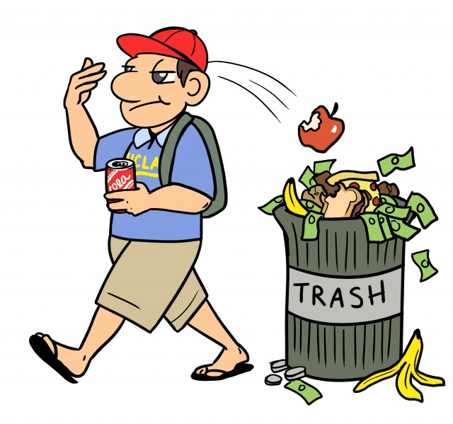 garbage clipart food wastage