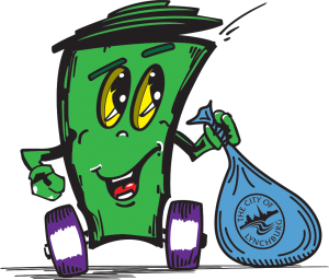 Garbage clipart sweeping. Refuse collection city of