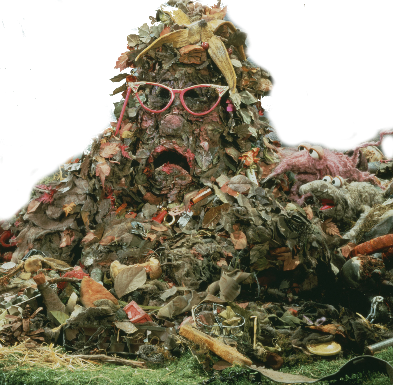 Trash pile png. Weekly muppet wednesdays marjory