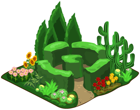 Image botanical garden png. Zoo clipart landscape png royalty free stock
