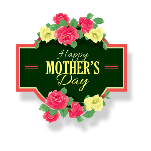 Garden clipart label. Mothers day png by