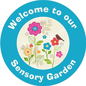 Garden clipart sensory garden. Upson downs blue circle