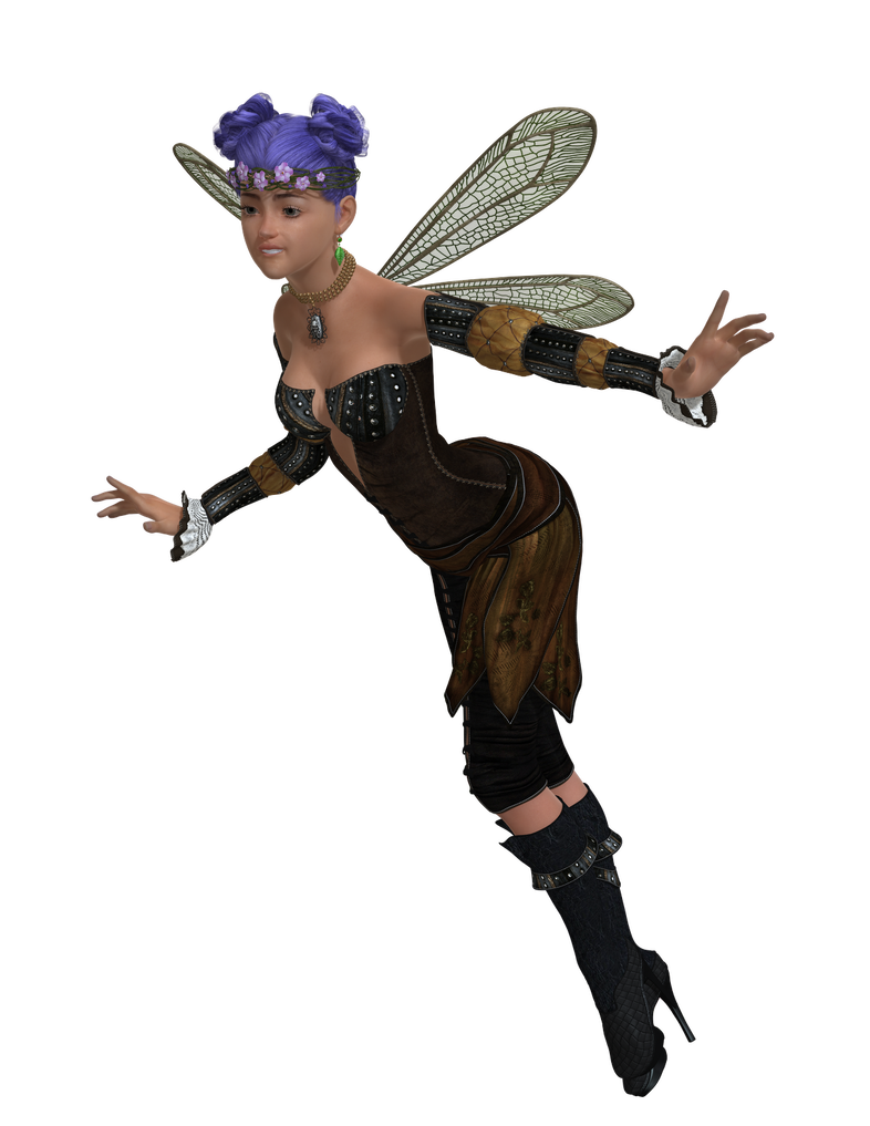 Garden fairy png. Ella in the free