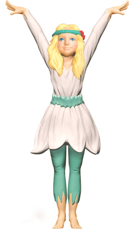 Garden fairy png. Belle archives my