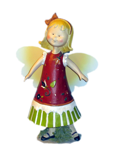 Garden fairy png. Stock image by pridescrossing