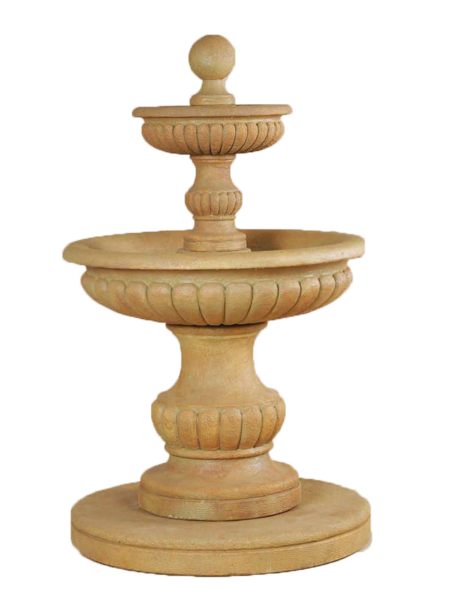 garden fountain png