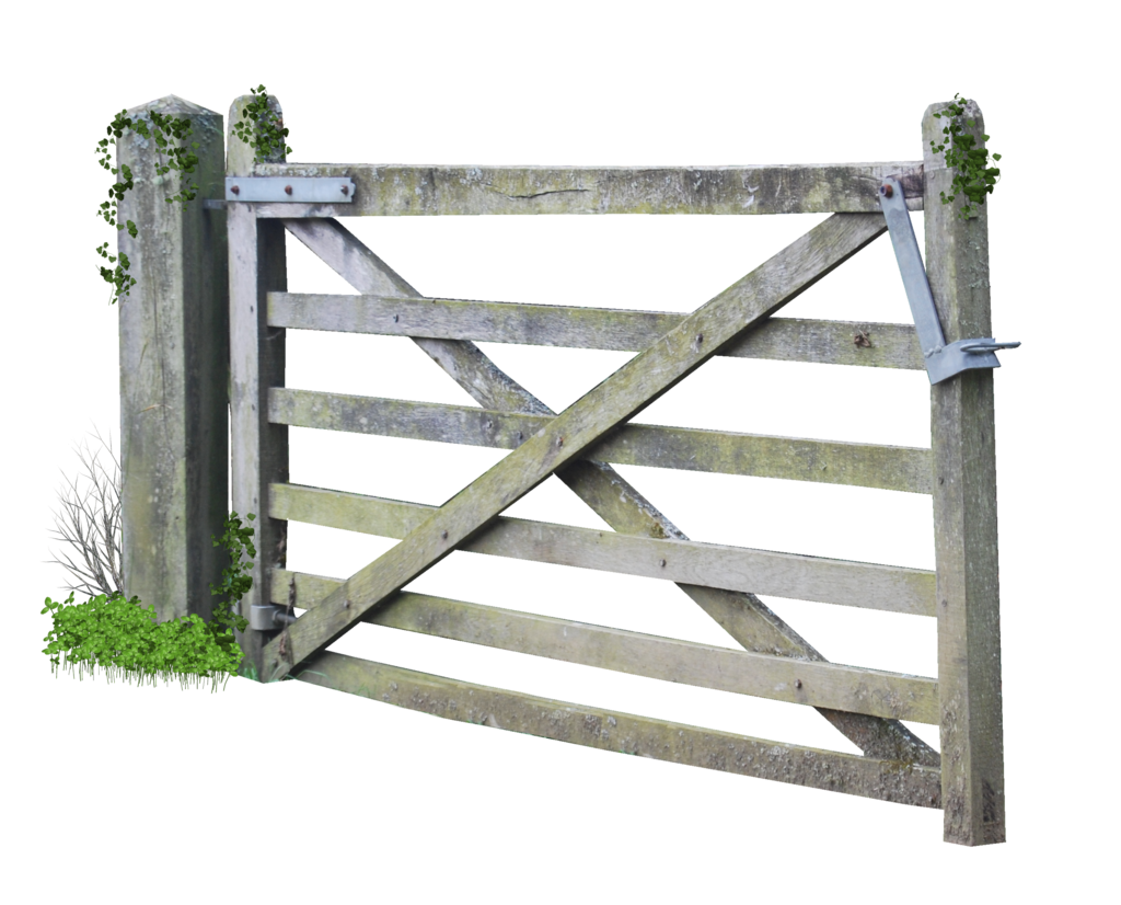 Wooden gate png. Farm by alz stock