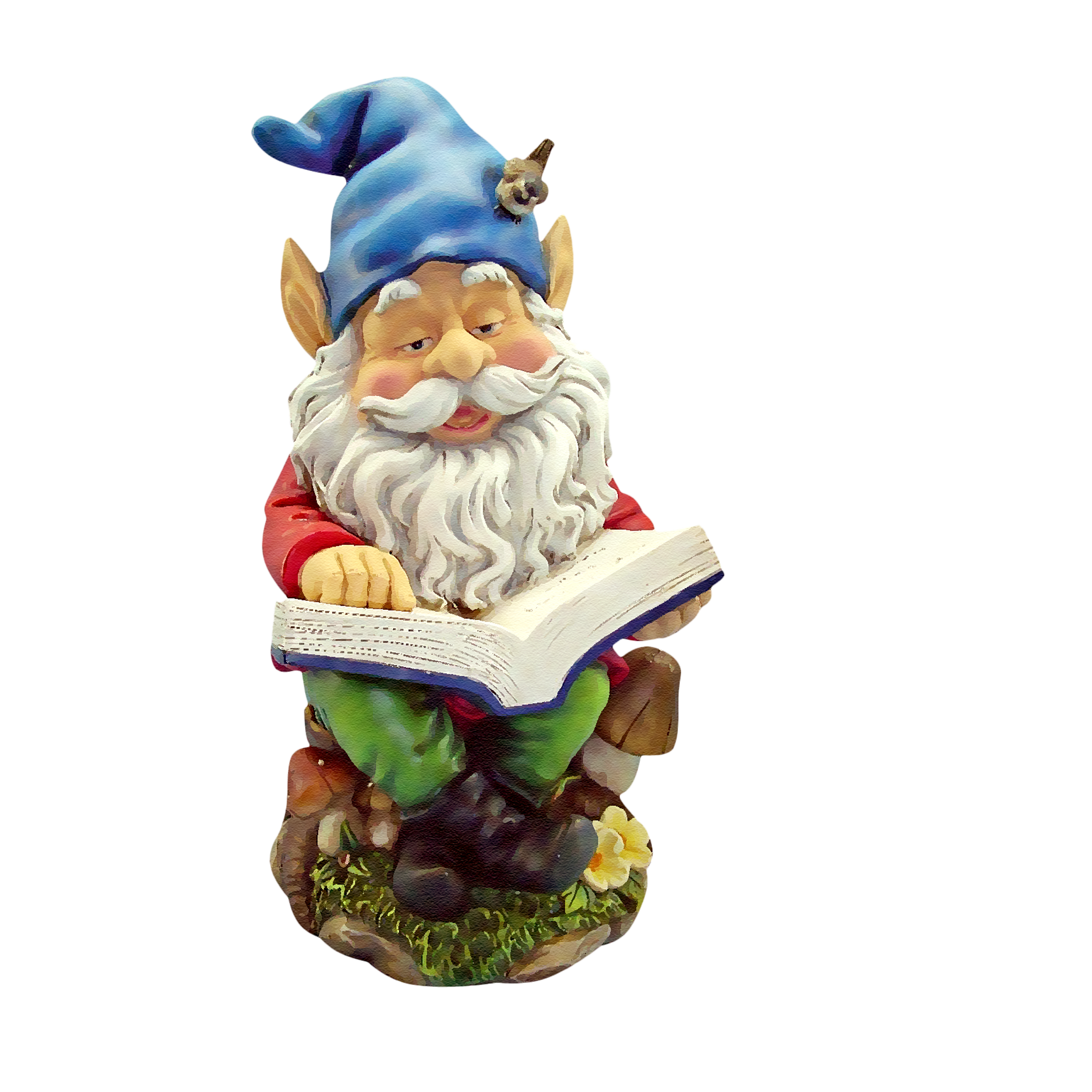 Garden gnome png. Gnomes reading dwarf transprent