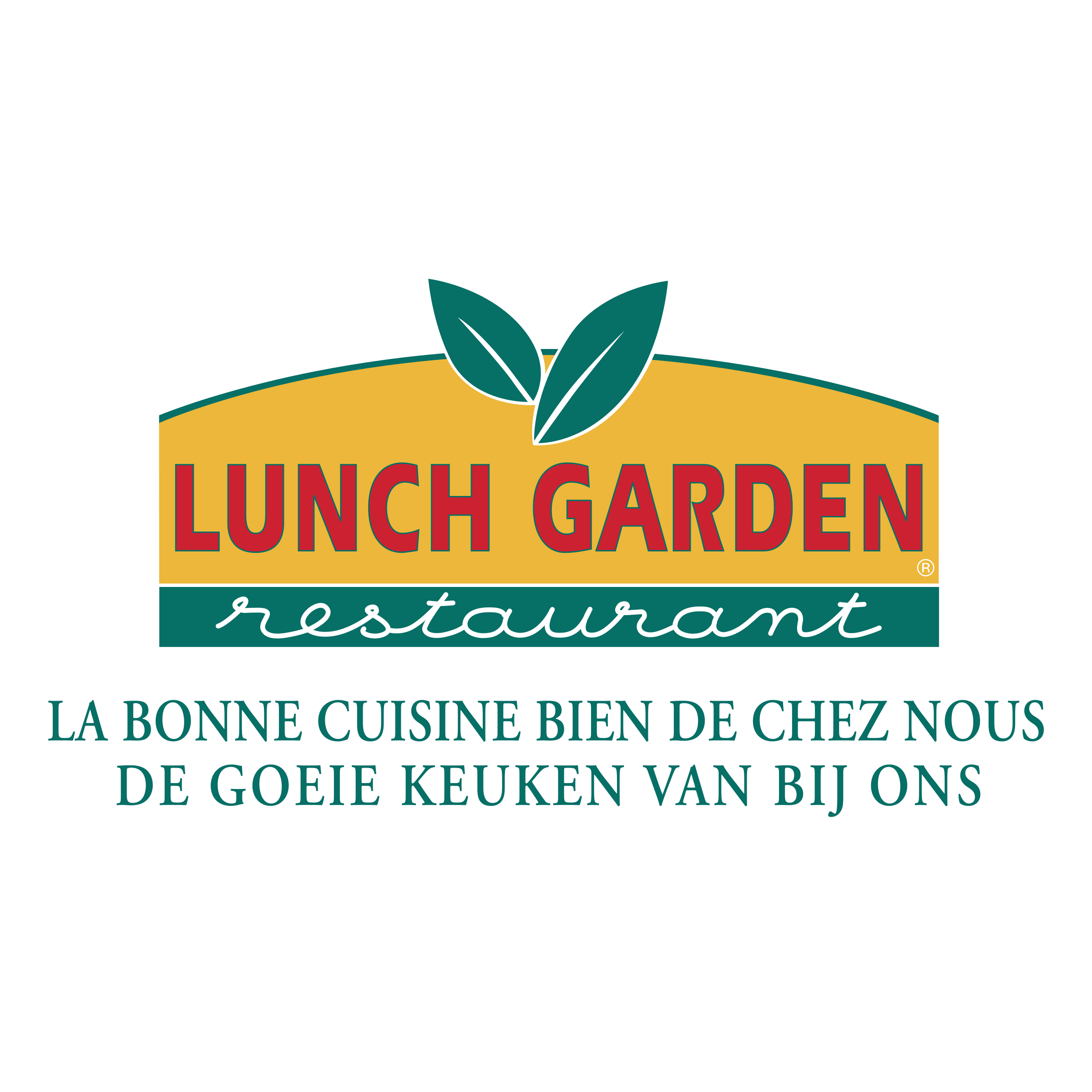 Garden vector png. Lunch logo transparent svg