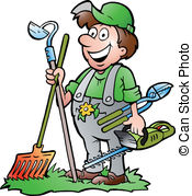 Gardening and stock illustrations. Gardener clipart png free library