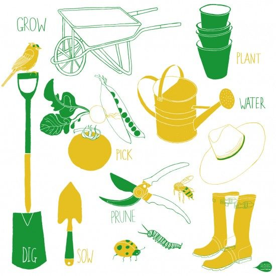 Gardener clipart livelihood project. Best gardening tools