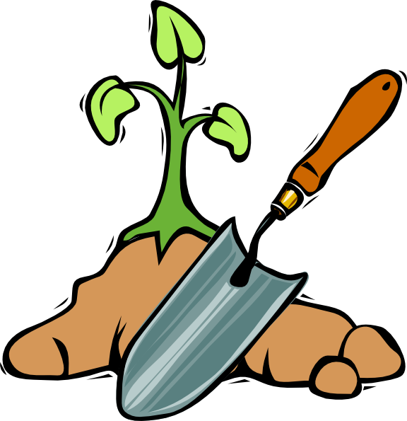 little clipart gardener