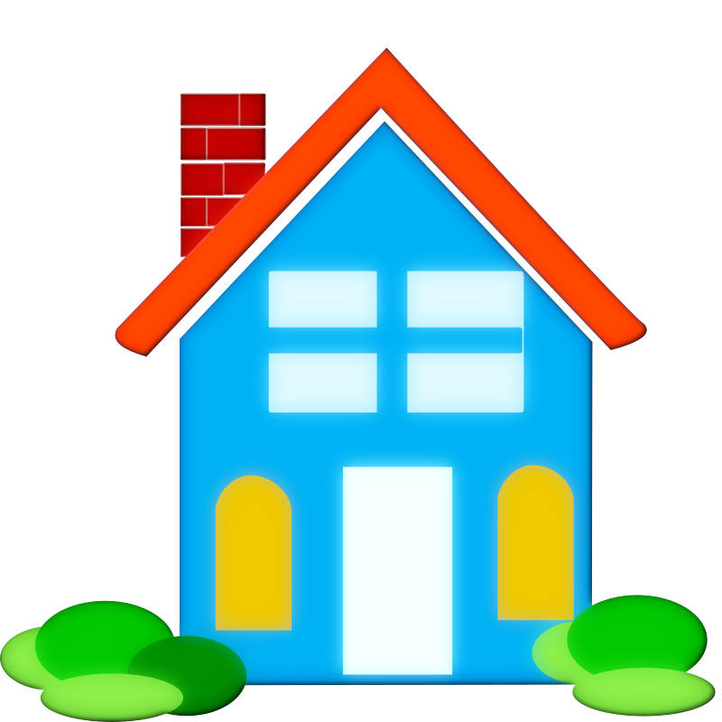 House clipart. Free take home cliparts