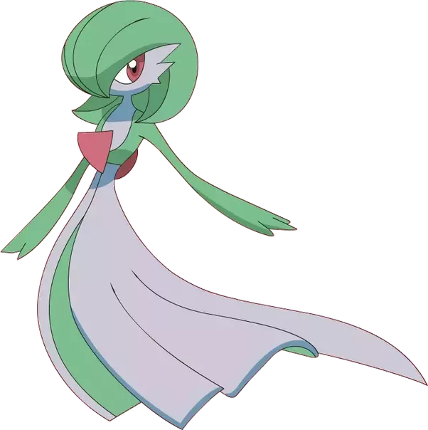 Gardevoir transparent ben. What are the most